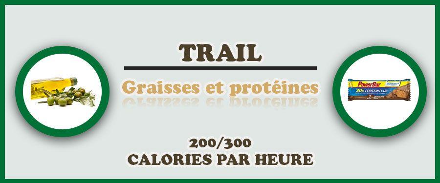 alimentation graisses protéines trail